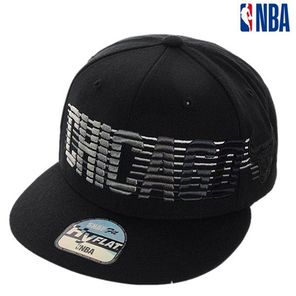 [NBA]CHI BULLS 그라데이션자수 HYFLAT CAP(N185AP623P)