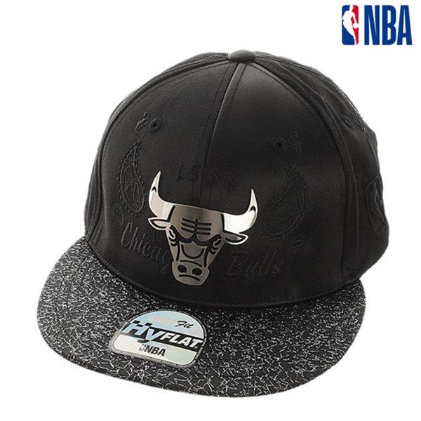 [NBA]CHI BULLS 장식 페이즐리 HYFLAT CAP(N185AP624P)