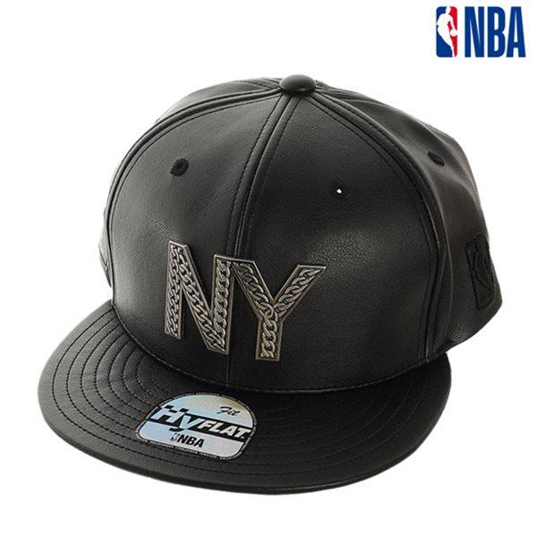 [NBA]NYK KNICKS 체인장식 로고 HYFLAT CAP(N185AP643P)