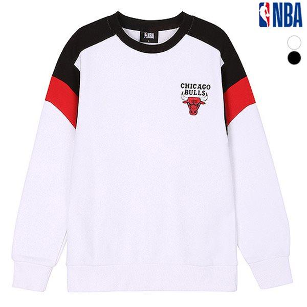 [NBA]CHI BULLS 암홀배색 맨투맨 티셔츠(N184TS112P)