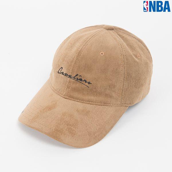 [NBA]CLE CAVALIERS 러테링 자수 코듀로이 SOFT CURVED CAP (N164AP323P)