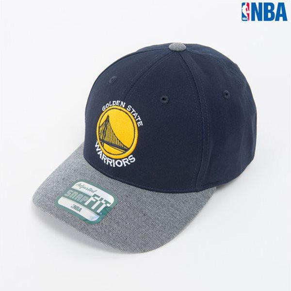 [NBA]GS WORRIORS 로고자수 SNAP FIT CAP (N164AP564P)