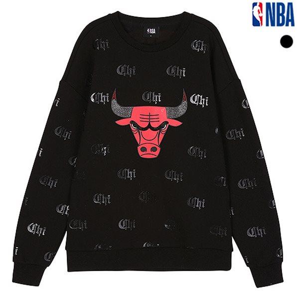 [NBA]CHI 전판로고 핫피스포인트 맨투맨 티셔츠(N184TS331P)