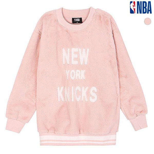 [NBA]뉴욕닉스 퍼 요꼬 배색 맨투맨 티셔츠(N184TS711P)