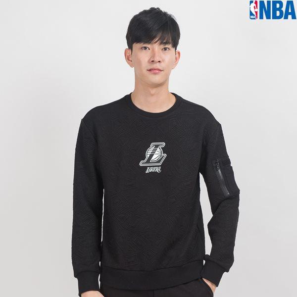 [NBA]LAL LAKERS 패턴퀼팅 MA-1 MTM (N164TS160P)