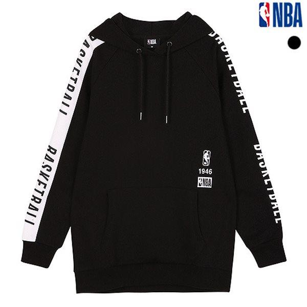 [NBA]NBA 라글랑 레터 아수라 후드티셔츠(N184TH702P)