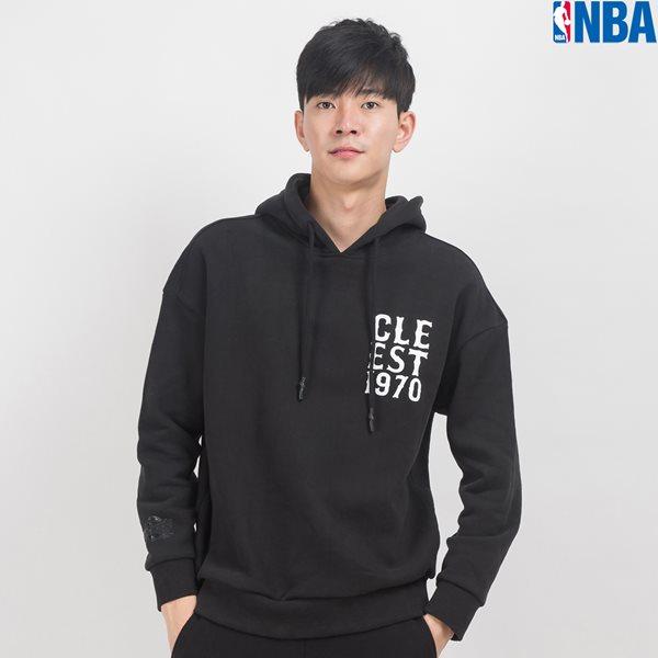 [NBA]CLE CAVALIERS WORDMARK OVER-FIT HOODY (N164TH130P)