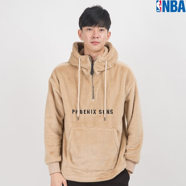 [NBA]PHX SUNS BOA FUR ANORAK (N164TH140P)