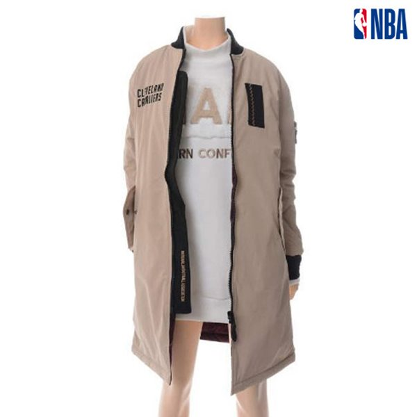 [NBA]CLE CLEVELAND 롱기장 리버시블 점퍼 (N164JP702P)