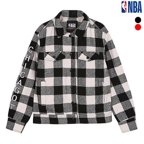 [NBA]CHI BULLS 울체크 트러커 JK(N183JP701P)