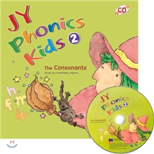 JY Phonics Kids 2 : The Consonants