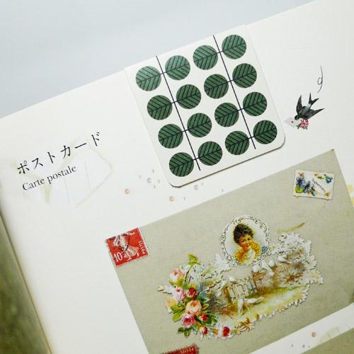 패턴 마그네틱 북마크