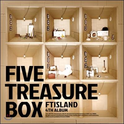 에프티아일랜드 (FTISLAND) 4집 - Five Treasure Box