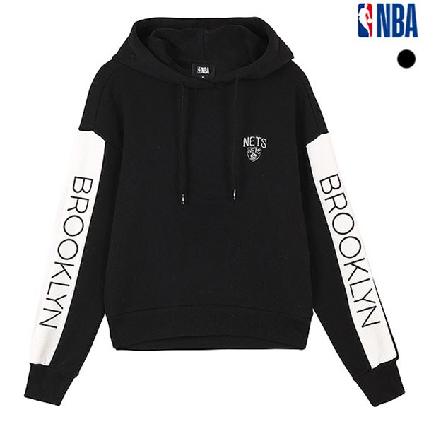 [NBA]BKN NETS 루즈핏 후드티셔츠(N184TH721P)