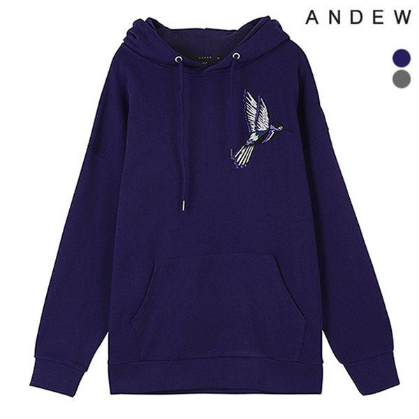 [ANDEW]남성 BIRD자수 쭈리후디(O184TS270P)
