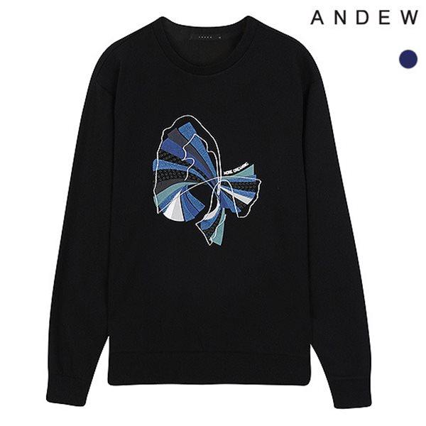 [ANDEW]남성 전판아트웍 CP맨투맨TS(O184TS210P)