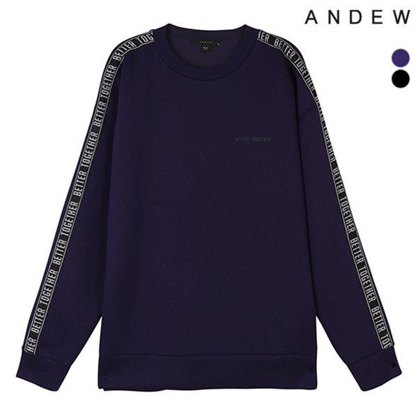 [ANDEW]남성 네오테리 테잎슬리브 맨투맨TS(O184TS250P)