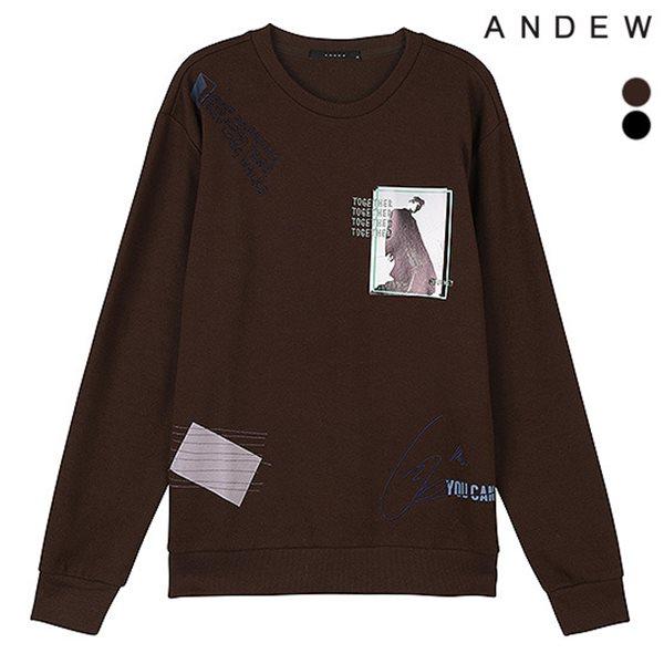 [ANDEW]남성 CP아트웍믹스 맨투맨TS(O184TS190P)