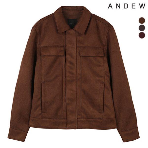 [ANDEW]남성 스웨이드 카라 점퍼(O184JP200P)