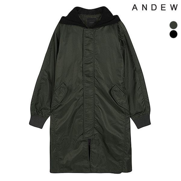 [ANDEW]남성 헤비트윌 후드 점퍼(O184JP120P)