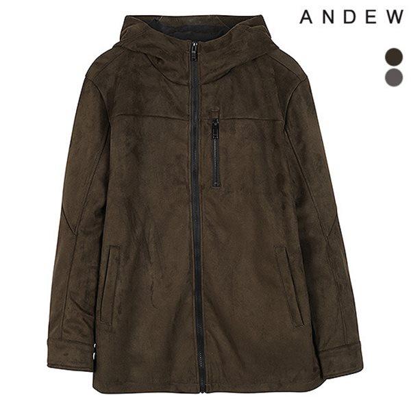 [ANDEW]남성 스웨이드 후드집업(O184TJ110P)