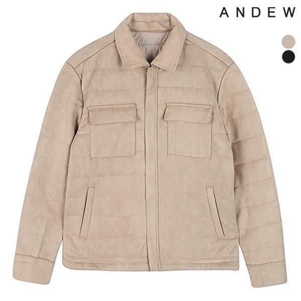 [ANDEW]남성 스웨이드 웰론 셔켓(O184JP220P)