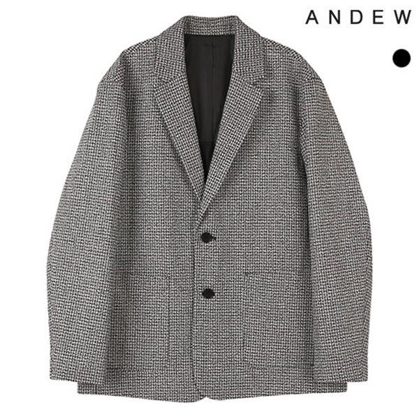 [ANDEW]남성 TR방모 패턴자켓(O184JK110P)