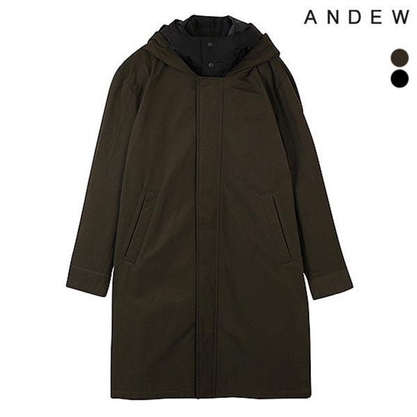 [ANDEW]남성 후드다운베스트 디테처블 점퍼(O184DW140P)