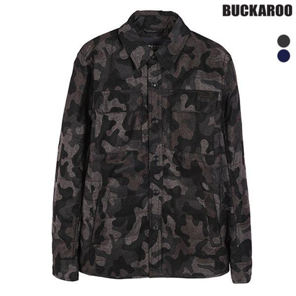 [BUCKAROO]남성 패딩퀼팅 셔츠형 점퍼(B154JP410P)
