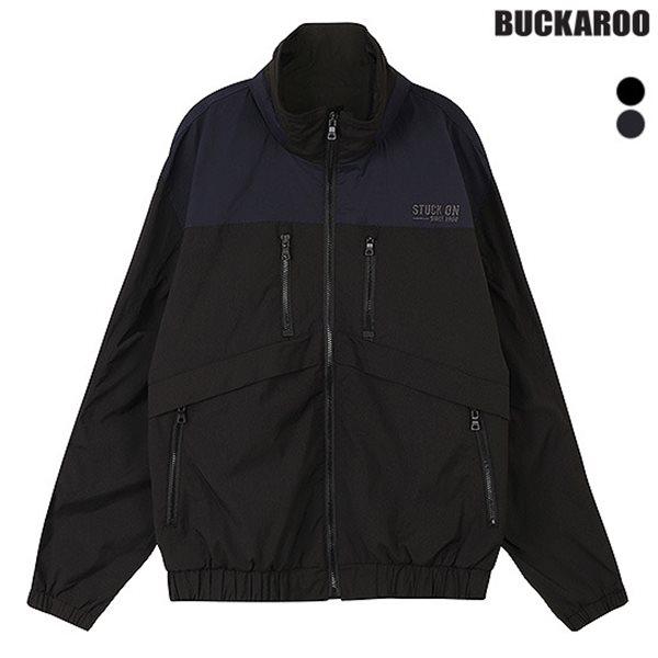 [BUCKAROO]남성 POLY 하이넥 트랙자켓(B183JP390P)