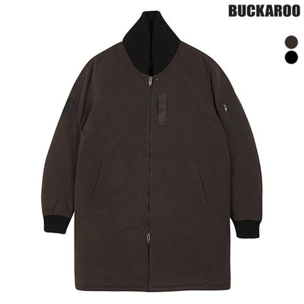 [BUCKAROO]유니 롱기장 다운스타디움점퍼(B164DW060P)