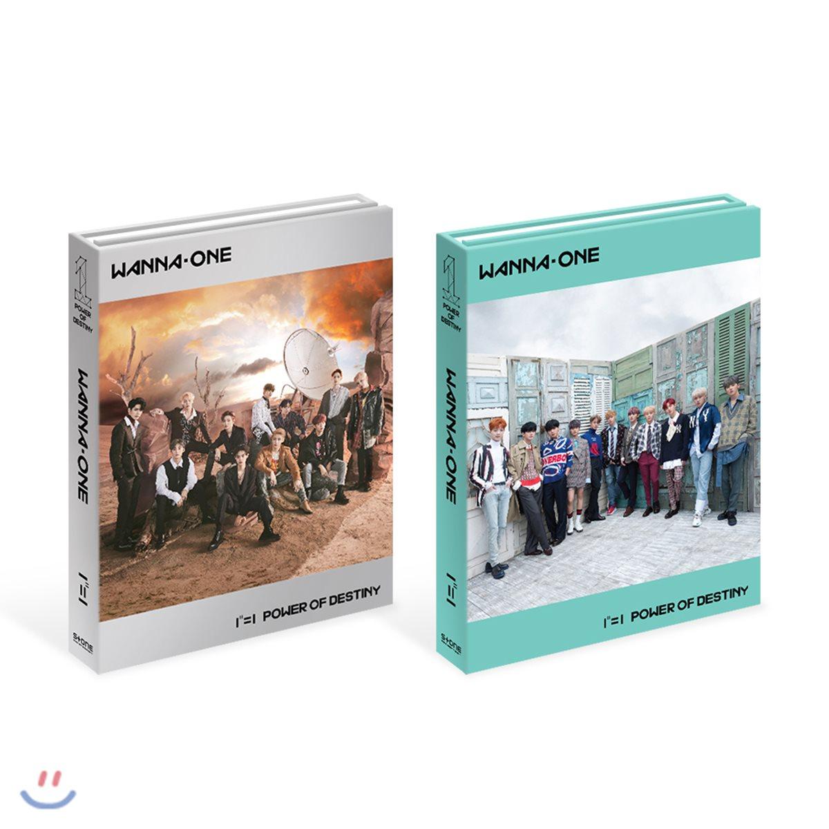 워너원(Wanna One) 1집 : 1¹¹=1 (POWER OF DESTINY)[Adventure + Romance/SET]