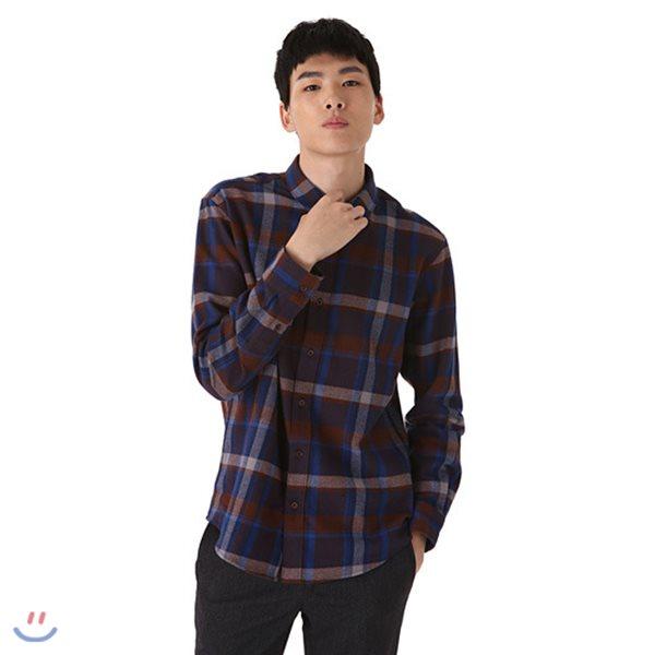 [ANDEW]남성 레귤러 기본카라 멀티체크 셔츠(O184SH130P)