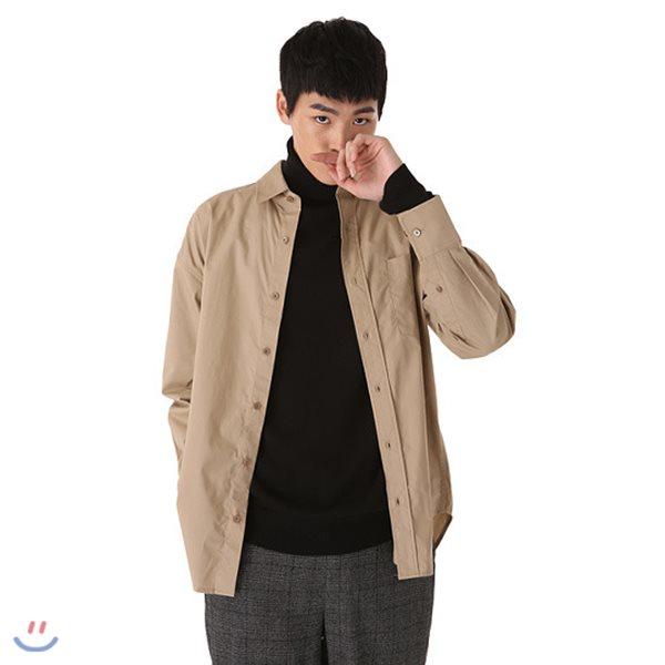 [ANDEW]남성 오버 기본카라 솔리드 셔츠(O183SH300P)