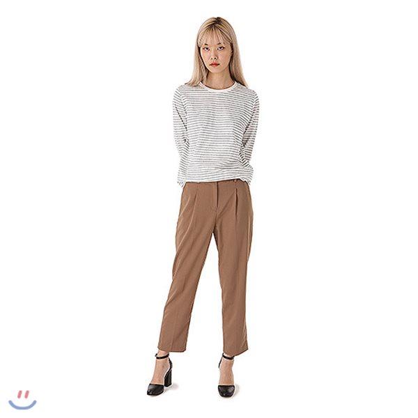 [ANDEW]여성 캐롯 TR 뒷밴딩 바지(O183PT510P)