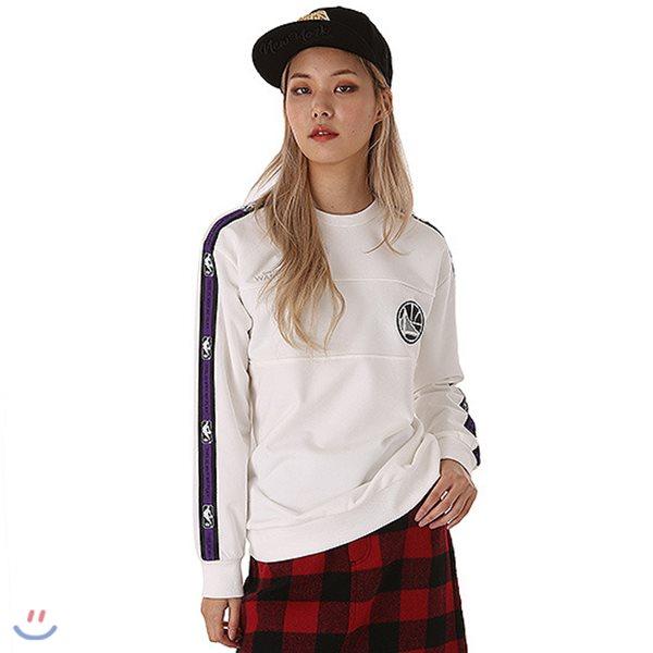 [NBA]GSW TAPE 소매 맨투맨 티셔츠(N183TS031P)