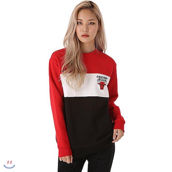 [NBA]LAL LAKERS 배색 후로피 맨투맨 티셔츠(N184TS114P)