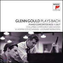 Glenn Gould 바흐: 피아노 협주곡 1-5번, 7번 (Plays Bach: Piano Concertos Nos.1-5 & 7) 글렌 굴드