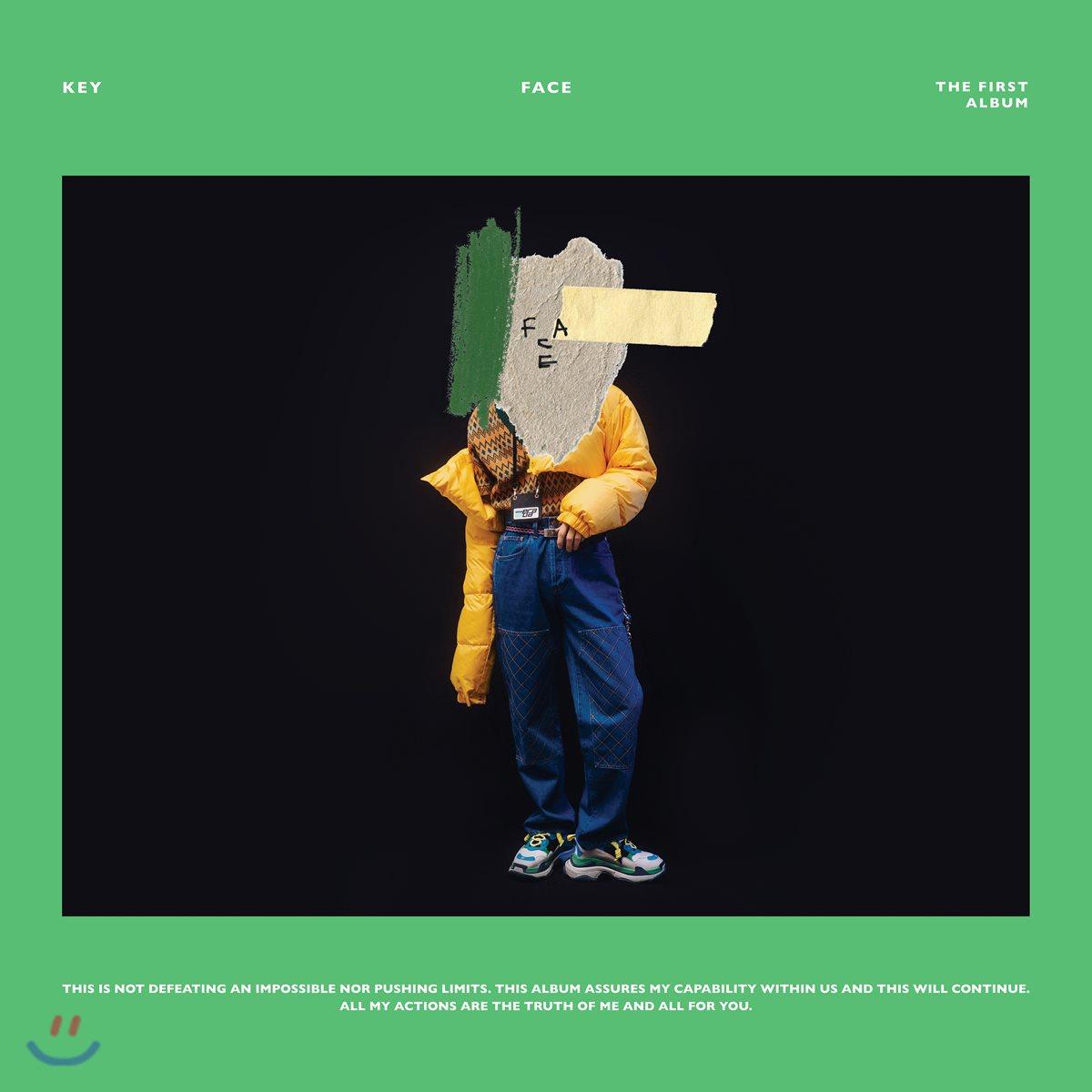 키 (Key) 1집 - Face [커버 2종 랜덤 발송]