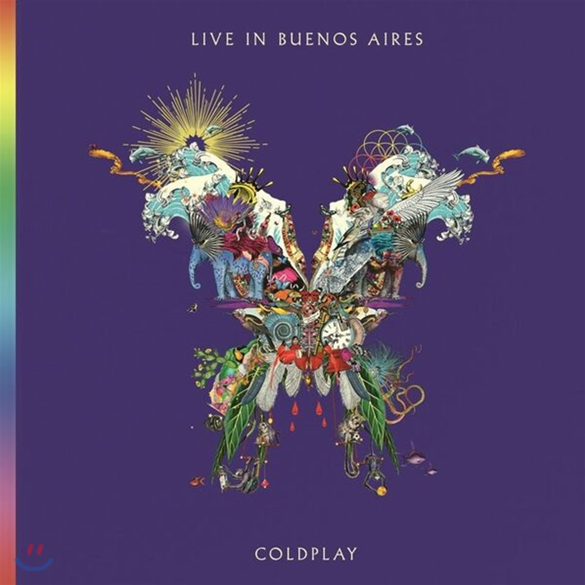Coldplay - Live In Buenos Aires 콜드플레이 라이브 앨범 [2CD]