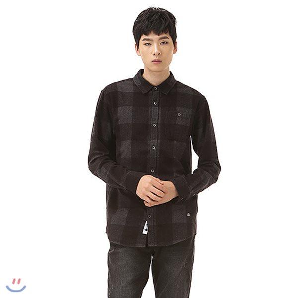 [BUCKAROO]남성 일본원단 빅 체크 셔츠(B184SH370P)