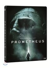 프로메테우스 3D (한정수량 스틸북) : 블루레이 (2D+3D)