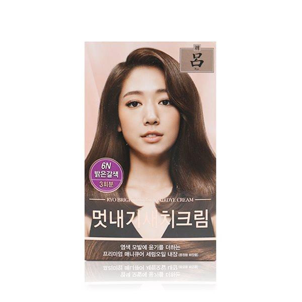 아모레 려 우아채 멋내기 새치크림 6N 밝은갈색