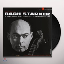 Janos Starker 바흐: 무반주 첼로 모음곡 전곡집 - 야노스 슈타커 [3LP]