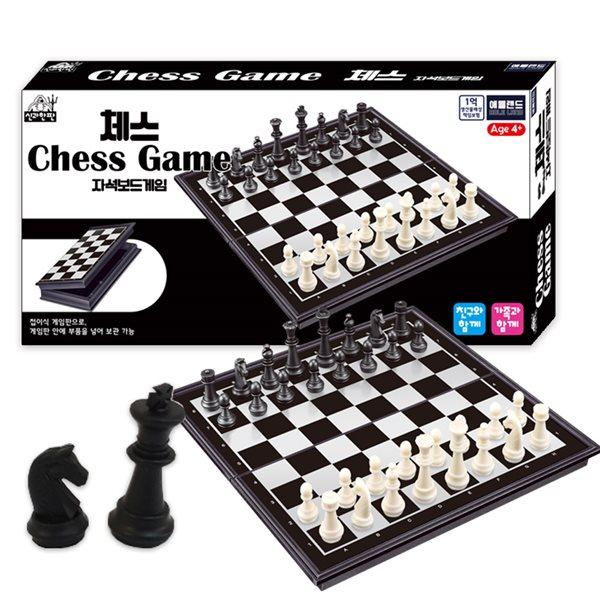 [YES24 배송]신과한판 체스 자석보드게임 / 두뇌개발 2인게임