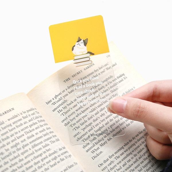 리딩펫 투명 책갈피