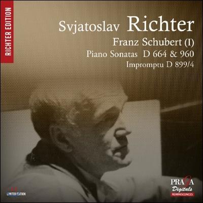 Sviatoslav Richter 슈베르트: 피아노 소나타 21번 D.960, 13번 D.664 - 스비아토슬라프 리히테르