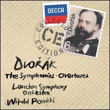 Witold Rowicki 드보르작: 교향곡 전집 (Dvorak: The Symphonies and Overtures)