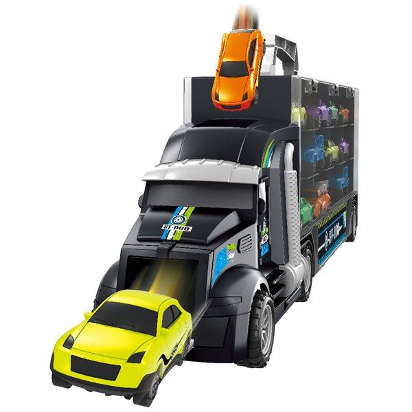 미니카 트럭 캐리어 자동차 장난감 세트