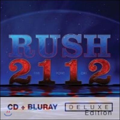 Rush - 2112 (CD+5.1 Audio Blu-ray Deluxe Edition)